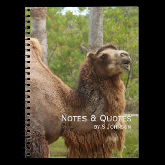 Guess What Day It Is Camel Funny Quote Notebook