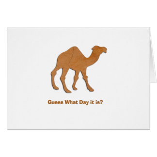 GUESS WHAT DAY IT IS CARD
