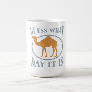 Guess what day it is classic white coffee mug