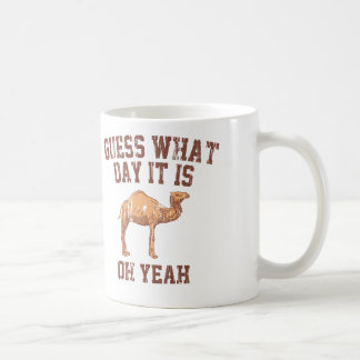 GUESS WHAT DAY IT IS? CLASSIC WHITE COFFEE MUG