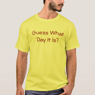 Guess What Day It Is Its Hump Day Happy Camels T-Shirt