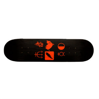 Guess what it says skateboard