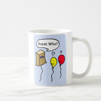 Guess Who, Balloon People Secret Pal Coffee Mug