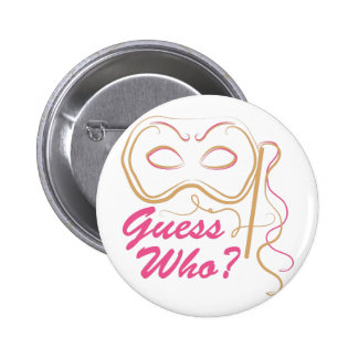 Guess Who 2 Inch Round Button