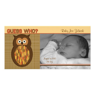 Guess Who? Photo Card Template