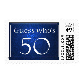 Guess who's 50? postage