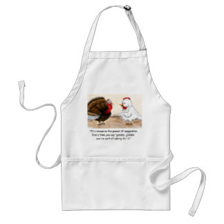 Guess Who's Coming For Dinner Adult Apron