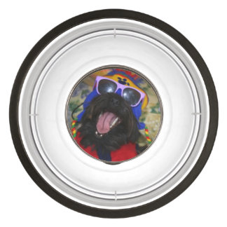 Guess Who's Coming To Dinner Food Dish! Pet Bowl