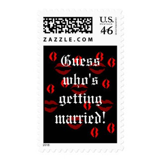 Guess Who's Getting Married postage