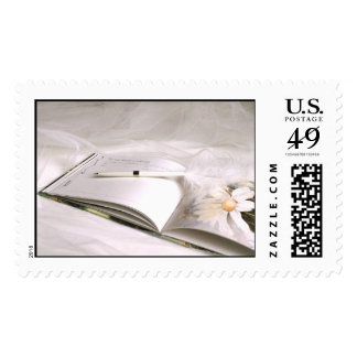 Guest Book (1) [CUSTOMIZE] Postage Stamp