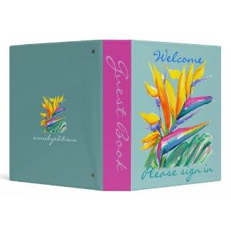 Guest book-binder binder