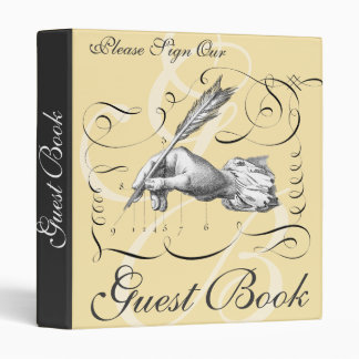 Guest Book Binder for Business or Special Events