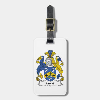 Guest Family Crest Travel Bag Tags