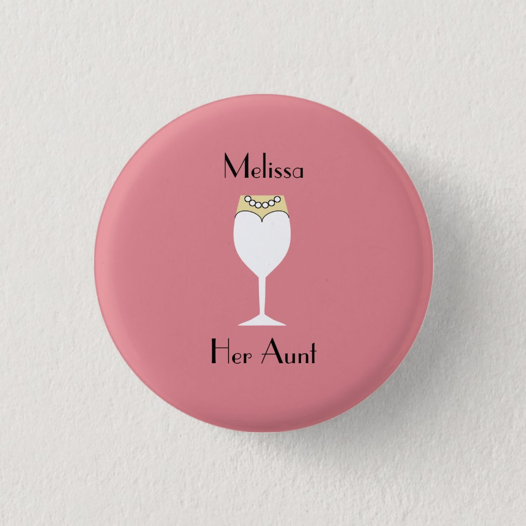Guest Identification Flair Pinback Button