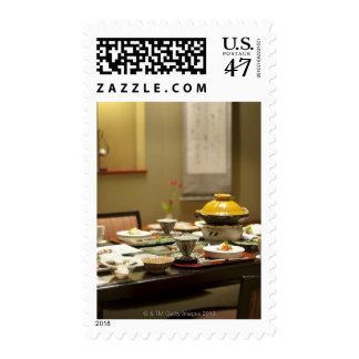 Guest room postage stamp