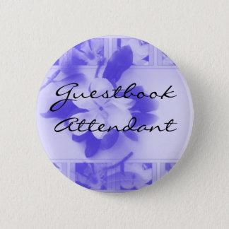 Guestbook Attendant Pinback Button