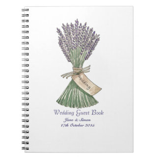 GuestBook/cuaderno del boda del jardín del país de Libros De Apuntes