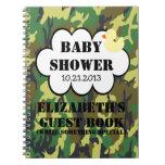 Guestbook de la fiesta de bienvenida al bebé del c cuadernos
