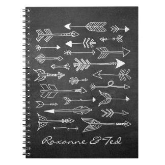 Guestbook tribal del personalizado de las libros de apuntes