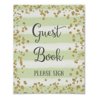 Guestbook Wedding Poster Print