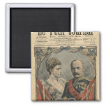 Guests of France, King Frederick VIII  and Queen Magnet