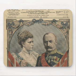 Guests of France, King Frederick VIII  and Queen Mouse Pad