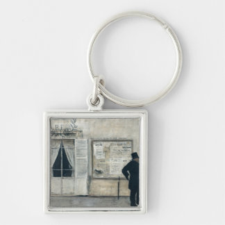 Guests Waiting for the Wedding Ceremony Keychain
