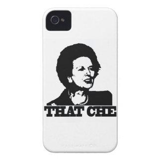guevara del che de thatcher Case-Mate iPhone 4 coberturas