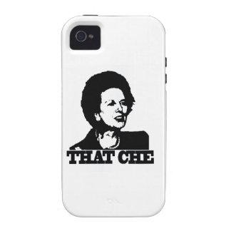guevara del che de thatcher Case-Mate iPhone 4 carcasa