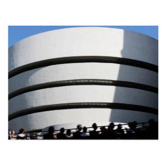 Guggenheim en NYC Tarjeta Postal
