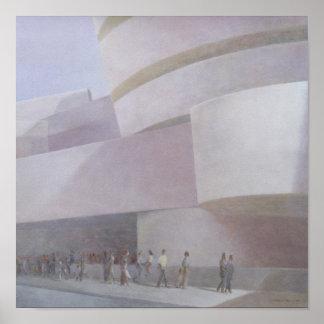 Guggenheim Museum New York 2004 Poster