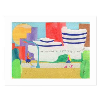 Guggenheim Postcards
