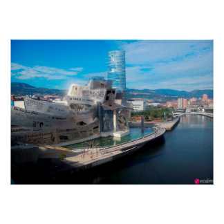 Guggenheim Prensa (Bilbao) Póster