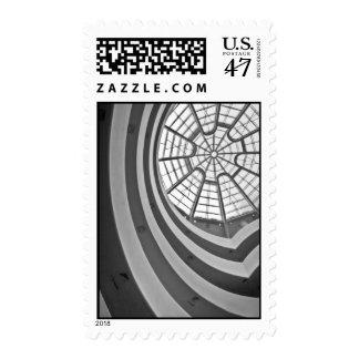 Guggenheim Skylight Stamp