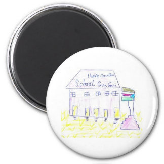 Gugu Learning Center 2 Inch Round Magnet
