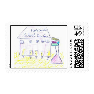 Gugu Learning Center Postage Stamps