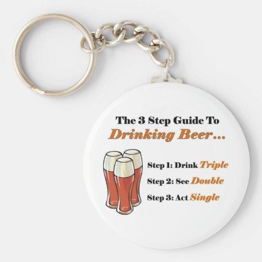 Guía 2 de la cerveza por completo llaveros