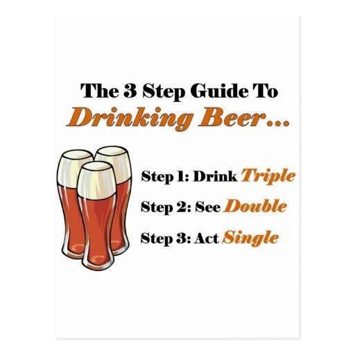 Guía 2 de la cerveza por completo postal