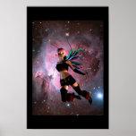 Guía cósmica - versión de la fantasía poster