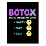 Guía de la expresión facial de BOTOX Postales