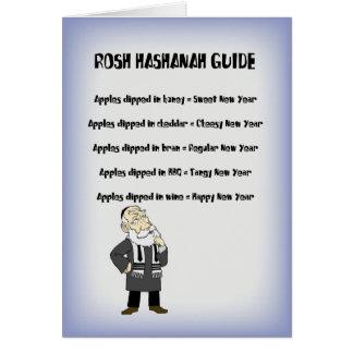 Guía de Rosh Hashanah Tarjeta De Felicitación