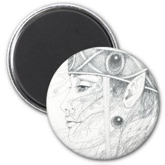 Guía del ángel del Shaman Imán Redondo 5 Cm