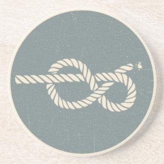 guía del nudo de Jones del bosun - Betty animosa Posavasos Diseño