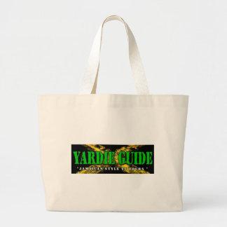 Guía Hangbag del Yardie con colores jamaicanos Bolsa De Mano