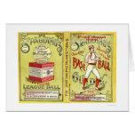 Guía oficial 1913 del béisbol tarjeton