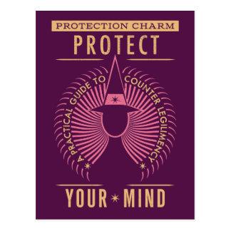 Guía turística del encanto de la protección tarjeta postal