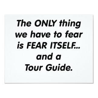 guía turístico del miedo comunicados personales