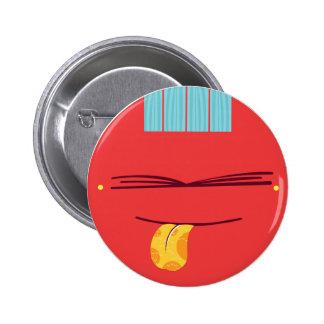 Guiara_bad education pin redondo 5 cm