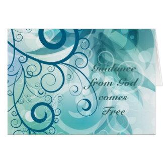 Guidance Card