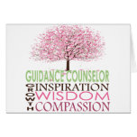 Guidance Counselor Card Cherry Blossoms